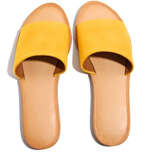 Women Summer Slippers Solid Flat Ladies Beach Shoes Fashion Slides