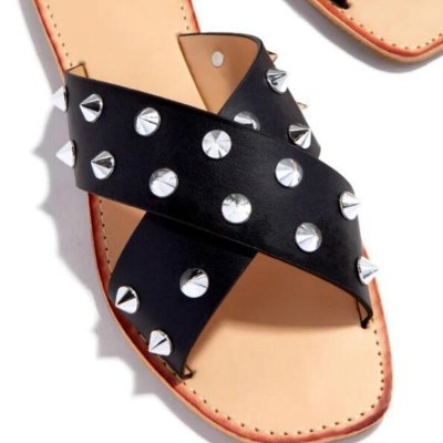 Female Slides Print Flat Non-slip Casual Women Slippers Fashion Outdoor