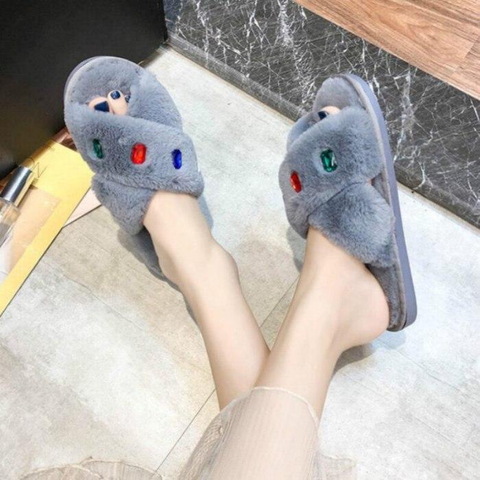 Women Slippers Flat Female Flip Flops Shoes Woman Outdoor Laides Slides