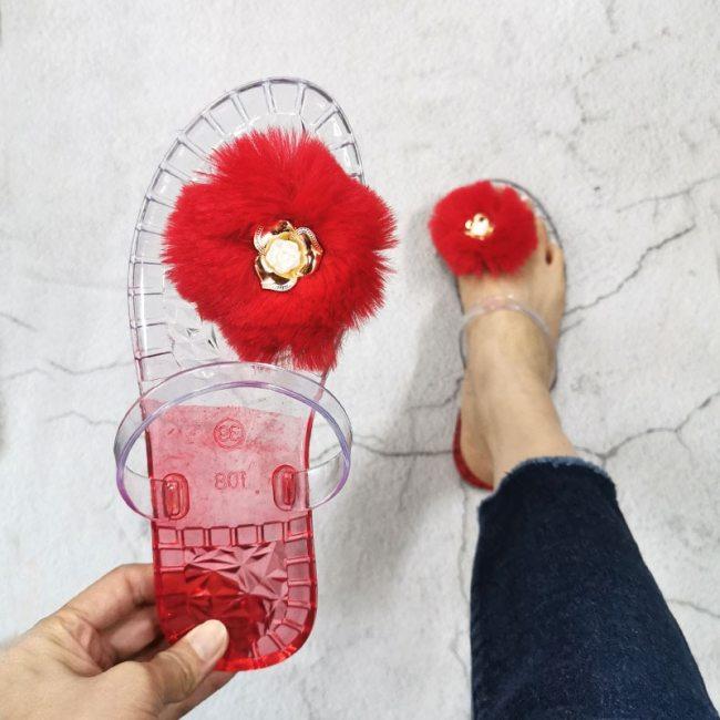 Beach Slippers Sandals Women's Shoes Flat Outdoor Beach Fashion Slides