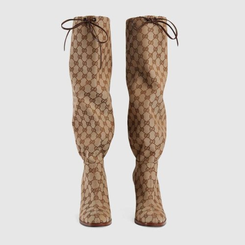 Women's Printed High Heel Boots Fashionable Boots Large Size Shoes Fur Boots Womens Boots