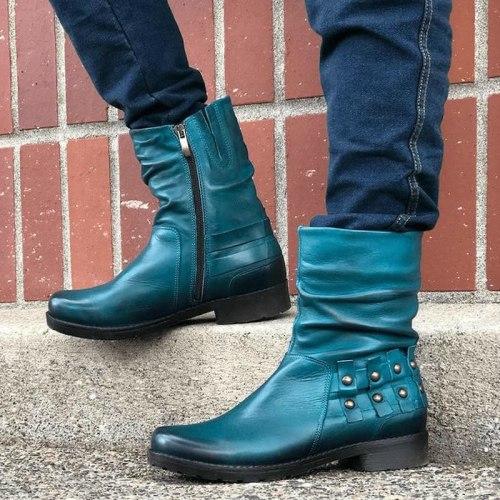 Women Ankle Boots Vintage Warm Shoes