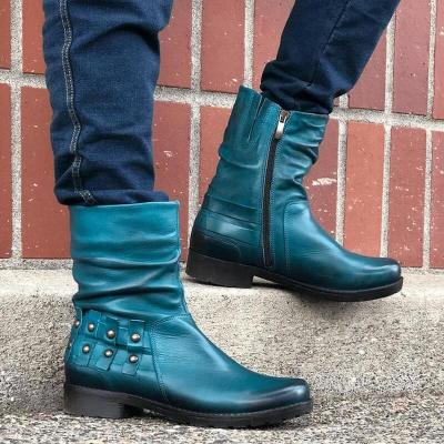 Women Ankle Boots Vintage Warm Shoes
