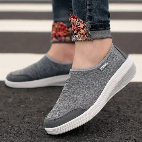 Women Pumps Mid Heels Wedges Shoes Casual Comfortable Shoe Female