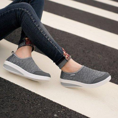 Women Pumps Mid Heels Wedges Shoes Casual Comfortable Shoe Female