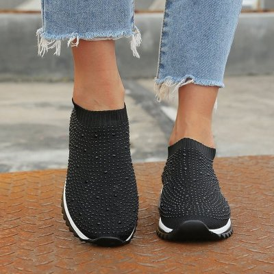 Women Flats Casual Shoes Woman Flat Slip On Plus Size Loafers Shoe