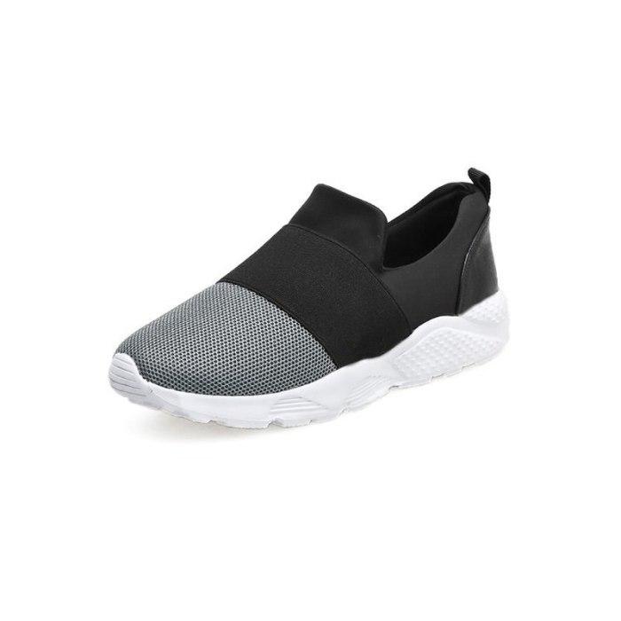 Women Flats Shoes Sneakers Flat Running Shoe Slip On
