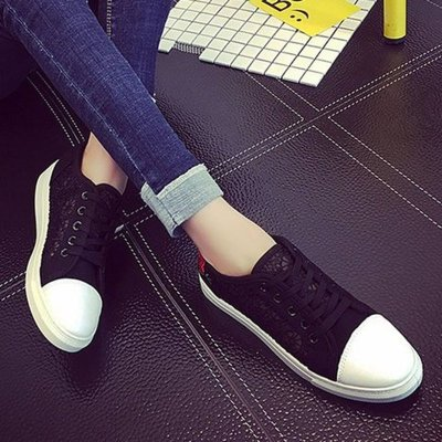 Women Ankle Boots Flats Gladiator Flat Lace Up Shoes Woman