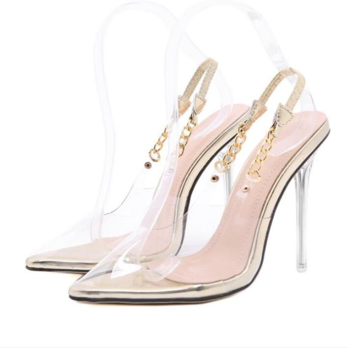Women Pumps High Heels Party Pointed Toe Sexy Night Shoes