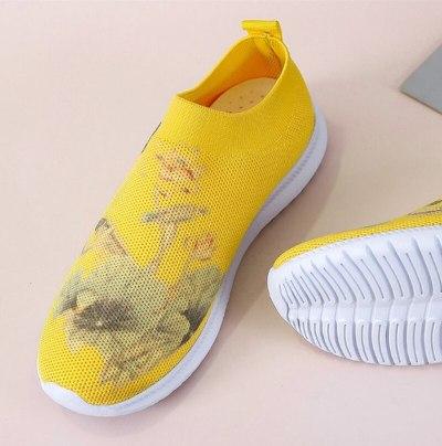 Loafers Soft Shoes Woman Hiking Vintage Shoe Flats Women
