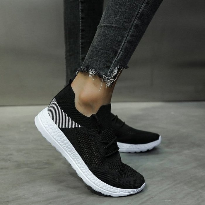 Women Flats Casual Shoes Plus Size Sneakers Sports