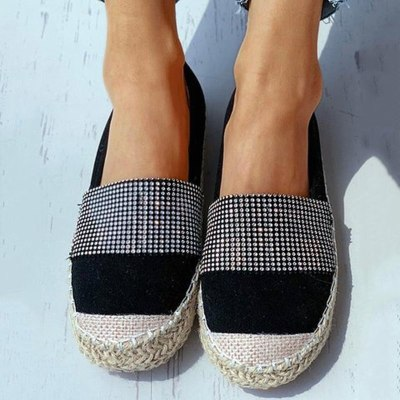Women Flats Casual Shoes Woman Loafers Plus Size Slip On