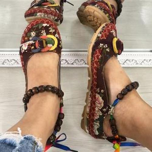 Women Flats Vintage Shoes Woman Plus Size Loafers Casual Shoe