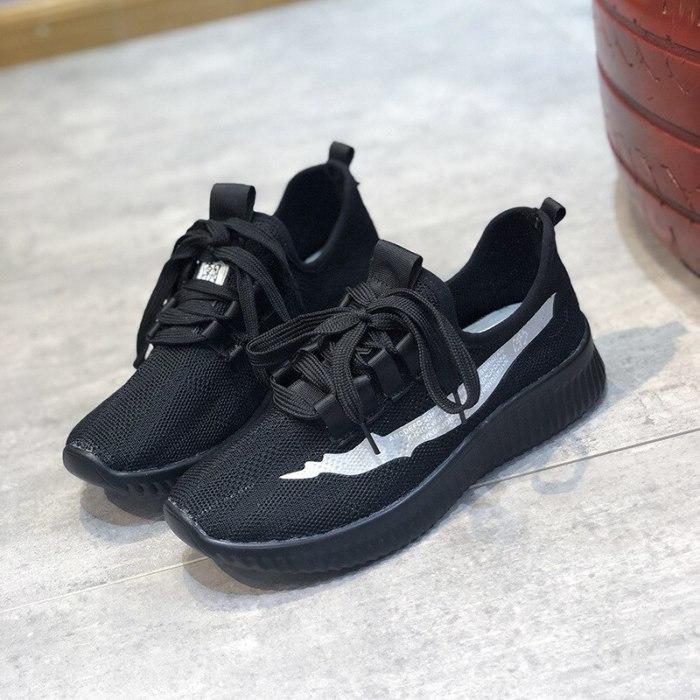 Women Flats Shoes Woman Light Plus Size Sneakers