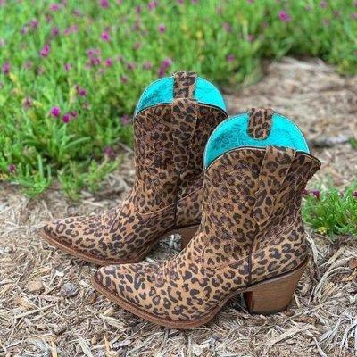 Women Ankle Boots Mid Heels Pumps Shoes Woman Warm Vintage PU Leather Shoe