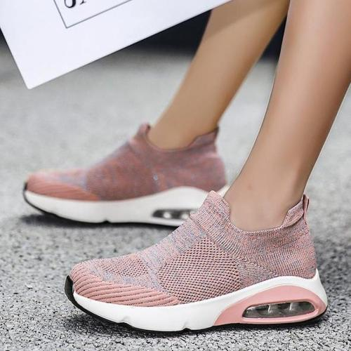 Women Flats Shoes Woman Slip On Plus Size Sneakers