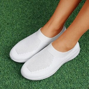 Women Flats Casual Shoes Woman Flat Slip On Single Breathable Sneakers