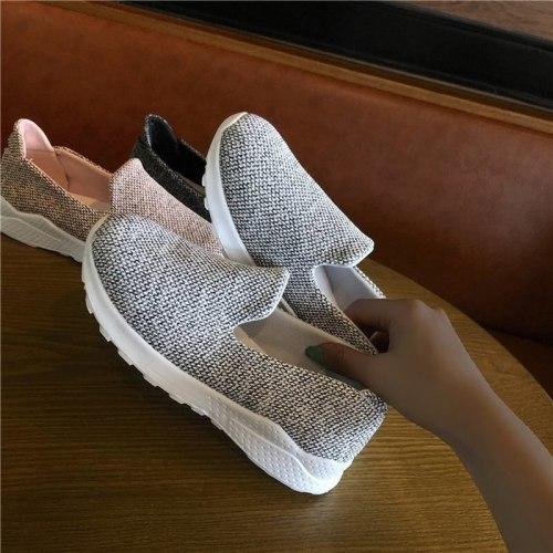 Women Flats Sneakers Sports Shoes Woman Running Flat Shoe