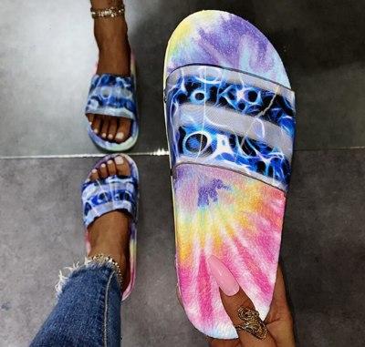 Slippers Slides Plus Size Shoe Women Flats Casual Shoes Soft