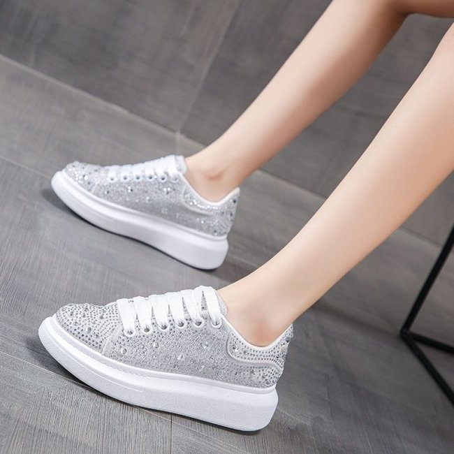 Women Flats Shoes Plus Size Flat Shoe Lace Up Wedding