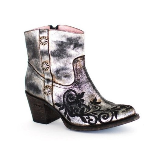 Women Ankle Boots Gladiator High Heels Shoe Plus Size Vintage PU Leather Shoes