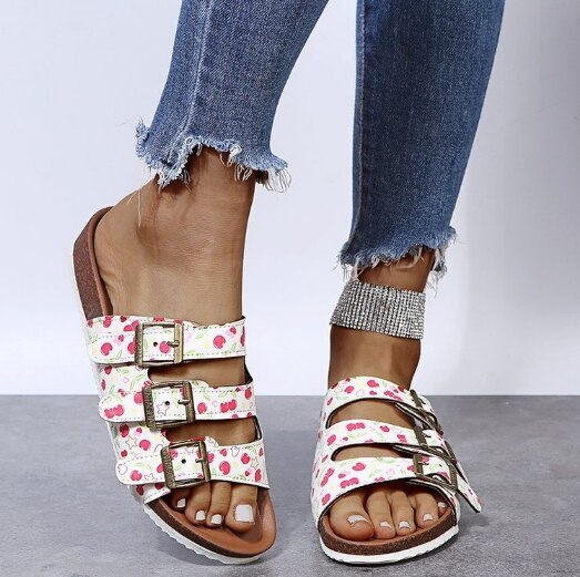 Soft Slippers Slides Women Flats Casual Shoes Woman