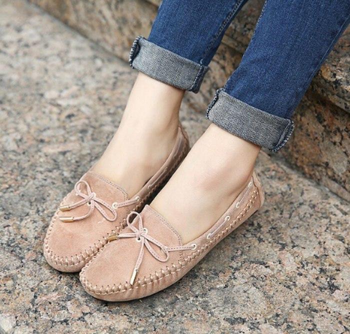 Cute Shoes Woman Plus Size Loafers Slip On Shoe Women Flats