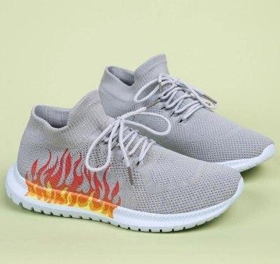 Plus Size Vintage Shoe Hiking Soft Shoes Woman Loafers Flats Women