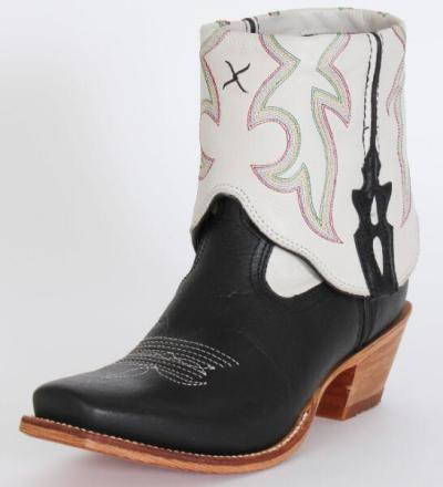 Women Mid-Calf Boots High Heels Vintage PU Leather Plus Size Shoes