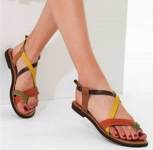 Women Flats Summer Beach Shoes Woman Plus Size Sandals Shoe