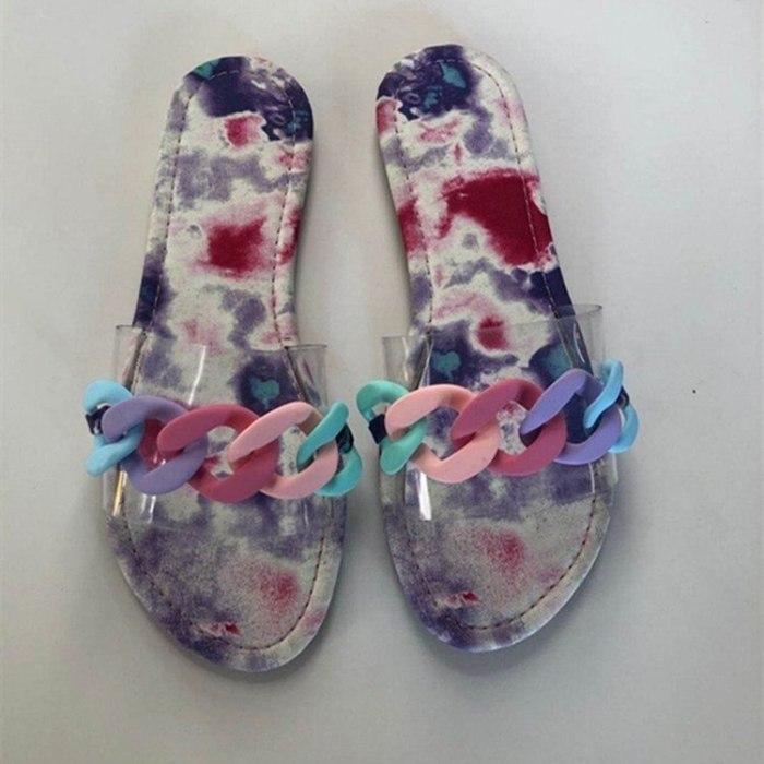 Slip On Shoe Women Flats Casual Sexy Shoes Woman Plus Size Slides