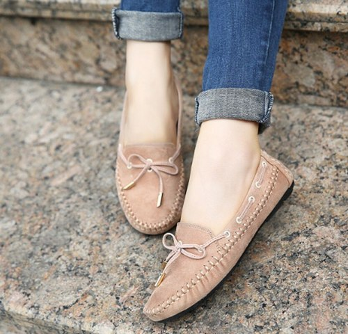 Cute Shoes Woman Plus Size Loafers Slip On Shoe Women Flats