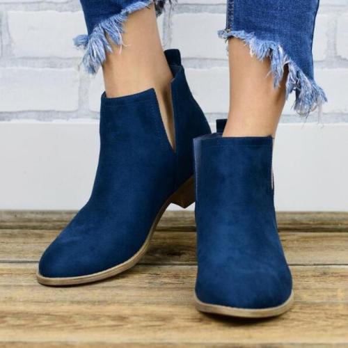 Women Ankle Boots Gladiator Flats Shoe Plus Size Slip On Vintage Flat Shoes Short Booties