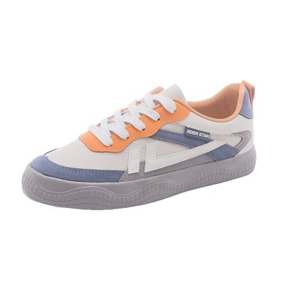 Canvas Shoes Women's Chic Shoes Casual Lace Up Girl Fashion Sneakers