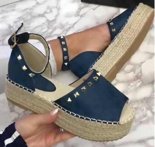 Ladies Sandals Casual Retro Sandals Women Fashion Summer Shoes Woman