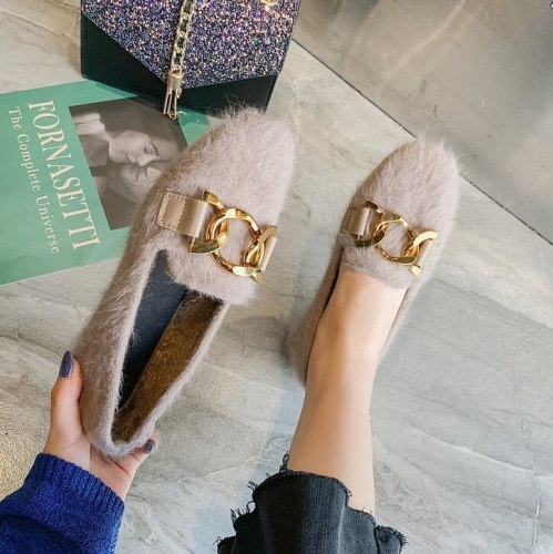 Comfortable Winter Ankle Boots Snow Warm Shoes