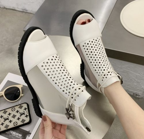 Wedge Sandals Open Toe Gladiator Casual Women Platform Sandals