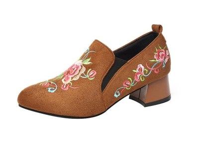 Fashion Women Shoes Low Heels Dress Shoes Work Shoes