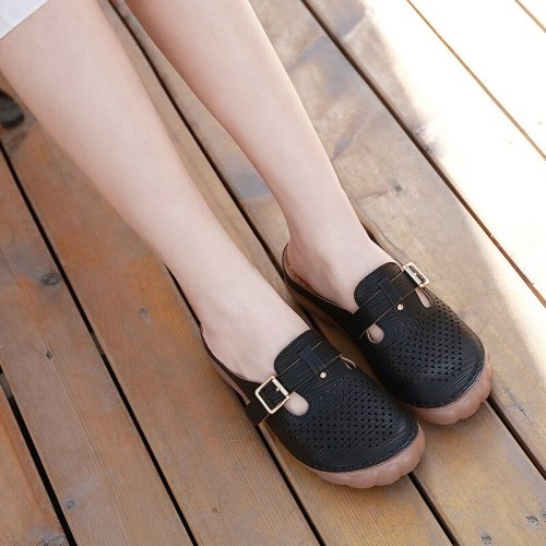 Women Slippers Ladies Retro Casual Beach Soft Comfortable Sandals Shoes