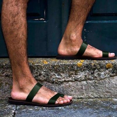 Sandals Shoes Men Women Casual Retro Sandals Flat Slippers Outdoor Footwear