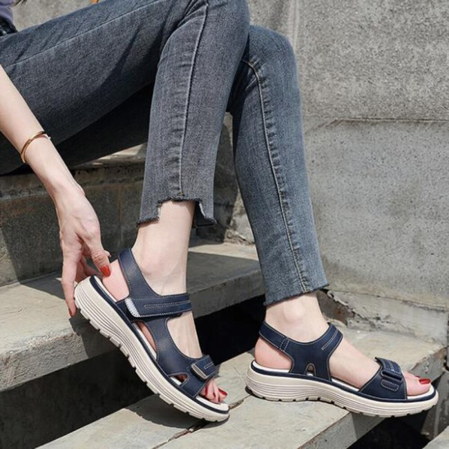 Women Ladies Slip-on Wedge Sandals Sports Fashion Casual Shoes