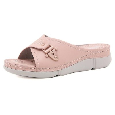 Casual Flip Flops Women Platform Wedge Sandals Slippers Fashion Women's Slippers