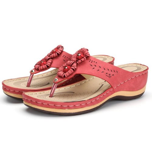 Slippers Casual Flip Flops Beach Sandals Female Wedge Shoes Lady Slippers