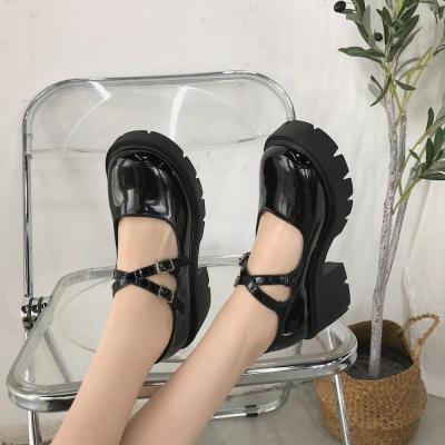 Lolita  Women Vintage High Heels Platform Cosplay Shoes