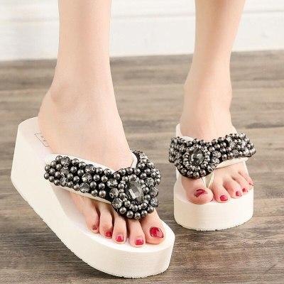 Slippers Women Sandal Open Toe Shoes Casual Slides Summer Outdoor Beach Female
