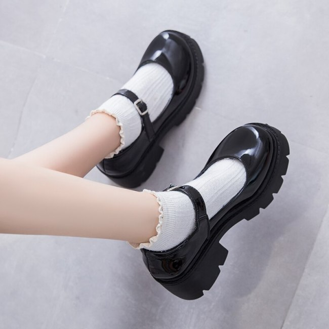 Mary Jane Lolita Shoes Women High Heels Platform Cosplay Costume Shoes