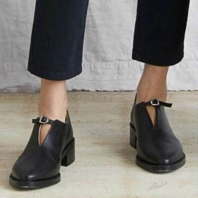 Women Shoes Formal Footwear Slip-On Retro Wedding Loafers Women