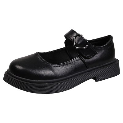 Lolita Shoes Women Mary Janes Shoes Leather Casual Platform Shoes