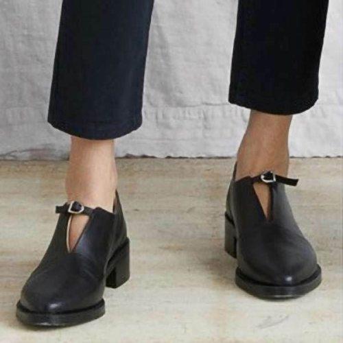 Women Shoes Formal Footwear Slip-On Retro Wedding Loafers Women