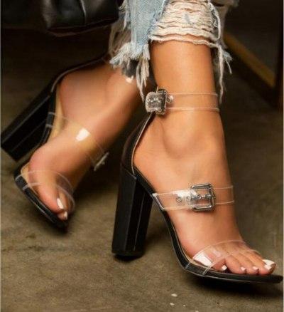 Sexy High Heels Women Pumps Ladies Shoes Classic Pumps Ankle Strap Sandals Shoes